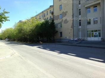 На фото видно: Суворовский переулок, 5. Екатеринбург (Свердловская область)