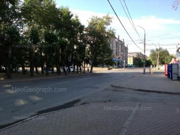 View to: Iliicha street, 44. Yekaterinburg (Sverdlovskaya oblast)