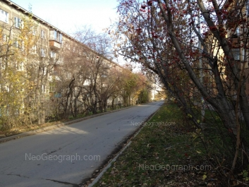 На фото видно: Профсоюзная улица, 22; Профсоюзная улица, 51. Екатеринбург (Свердловская область)