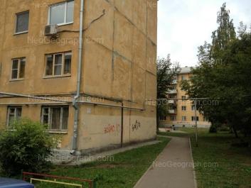 На фото видно: Белореченская улица, 5А; Посадская улица, 33. Екатеринбург (Свердловская область)