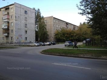 View to: Zavodskaya street, 43/1; Zavodskaya street, 43/2. Yekaterinburg (Sverdlovskaya oblast)
