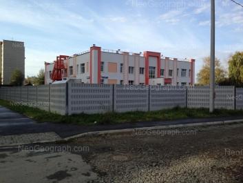 На фото видно: Рабочих улица, 22 (Детский сад №189). Екатеринбург (Свердловская область)