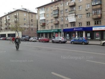 На фото видно: Малышева улица, 83; Малышева улица, 85. Екатеринбург (Свердловская область)