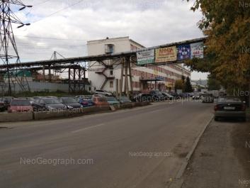 View to: Artinskaya street, 4. Yekaterinburg (Sverdlovskaya oblast)