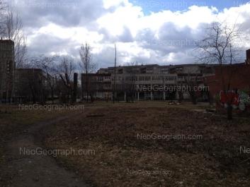 View to: Bebeliya street, 122Б (Школа №6); Opalihinskaya street, 18; Opalihinskaya street, 20. Yekaterinburg (Sverdlovskaya oblast)