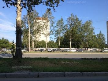 View to: Serafimi Deriyabinoy street, 30Б. Yekaterinburg (Sverdlovskaya oblast)