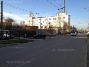 На фото видно: Чапаева улица, 12. Екатеринбург (Свердловская область)