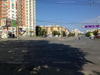 View to: Kuznetsova street, 21; Pobedi street, 5. Yekaterinburg (Sverdlovskaya oblast)