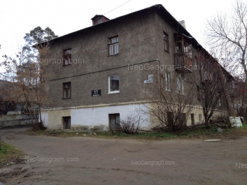 На фото видно: Чердынская улица, 58. Екатеринбург (Свердловская область)