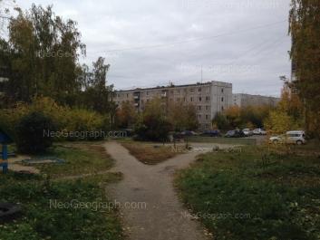 View to: Vikulova street, 43 к2. Yekaterinburg (Sverdlovskaya oblast)