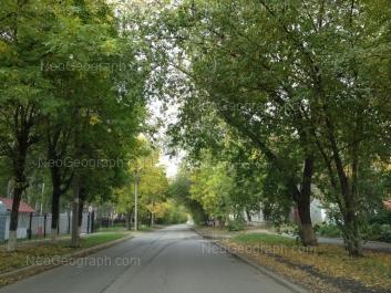 View to: Slaviyanskaya street, 62. Yekaterinburg (Sverdlovskaya oblast)