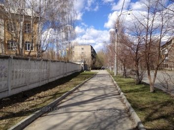 View to: Blukhera street, 63в; Danily Zvereva street, 4; Danily Zvereva street, 6; Danily Zvereva street, 7. Yekaterinburg (Sverdlovskaya oblast)