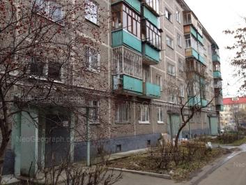 View to: Belorechenskaya street, 24 к1. Yekaterinburg (Sverdlovskaya oblast)