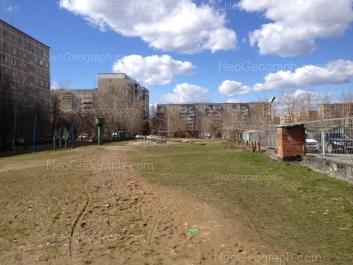 View to: Blukhera street, 55; Iulskaya street, 16; Sovetskaya street, 49; Sovetskaya street, 51; Sovetskaya street, 58. Yekaterinburg (Sverdlovskaya oblast)