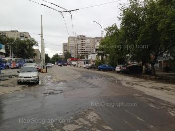 View to: Kommunisticheskaya street, 20; Kommunisticheskaya street, 85. Yekaterinburg (Sverdlovskaya oblast)