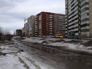 View to: Rastochnaya street, 15/7; Rastochnaya street, 15/6; Rastochnaya street, 17/1. Yekaterinburg (Sverdlovskaya oblast)