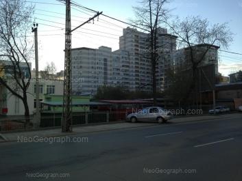 View to: Karla Marksa street, 12; Rozi Luksemburg street, 44А; Rozi Luksemburg street, 46 (Детский сад №12). Yekaterinburg (Sverdlovskaya oblast)