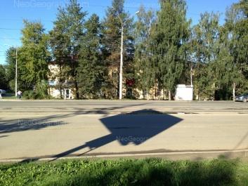 View to: Starikh Bolshevikov street, 11. Yekaterinburg (Sverdlovskaya oblast)