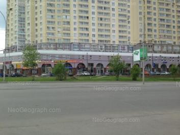 View to: 8 Marta street, 194. Yekaterinburg (Sverdlovskaya oblast)