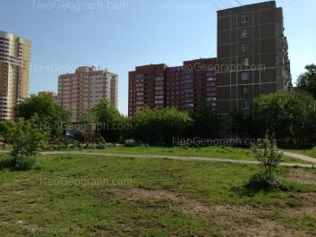 На фото видно: Боровая улица, 23; Боровая улица, 29; Боровая улица, 31; Вилонова улица, 24. Екатеринбург (Свердловская область)