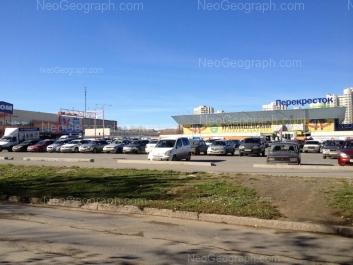 View to: Pobedi street, 63; Pobedi street, 65 (Уралмашевский, торговый комплекс). Yekaterinburg (Sverdlovskaya oblast)