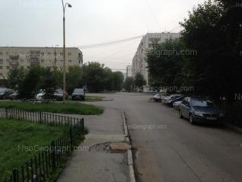 View to: Starikh Bolshevikov street, 45; Starikh Bolshevikov street, 73. Yekaterinburg (Sverdlovskaya oblast)