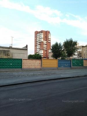 View to: Lunacharskogo street, 15; Lunacharskogo street, 17. Yekaterinburg (Sverdlovskaya oblast)