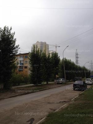 На фото видно: Братская улица, 21; Братская улица, 23. Екатеринбург (Свердловская область)