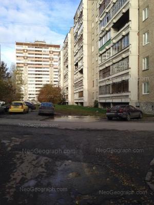 View to: Metallurgov street, 44; Metallurgov street, 50. Yekaterinburg (Sverdlovskaya oblast)