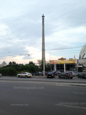 View to: 8 Marta street, 43А. Yekaterinburg (Sverdlovskaya oblast)
