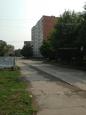 View to: Starikh Bolshevikov street, 73. Yekaterinburg (Sverdlovskaya oblast)