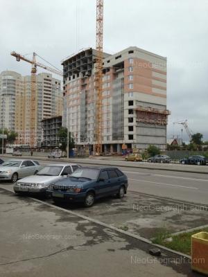 View to: Bakinskikh Komissarov street, 99; Bakinskikh Komissarov street, 101. Yekaterinburg (Sverdlovskaya oblast)