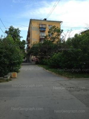 На фото видно: Орджоникидзе проспект, 6. Екатеринбург (Свердловская область)