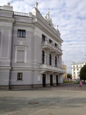View to: Lenina avenue, 46А (Театр оперы и балета); Lenina avenue, 46. Yekaterinburg (Sverdlovskaya oblast)