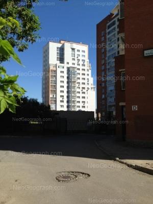 View to: Malisheva street, 3; Popova street, 33А (Покровский, жилой комплекс). Yekaterinburg (Sverdlovskaya oblast)