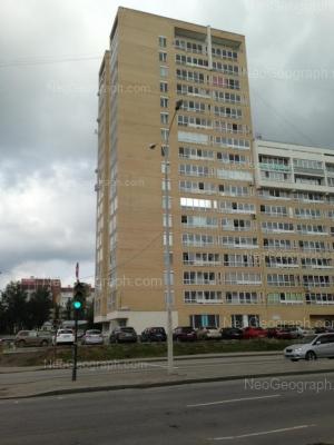 View to: Bakinskikh Komissarov street, 113; Vosstaniya street, 116. Yekaterinburg (Sverdlovskaya oblast)