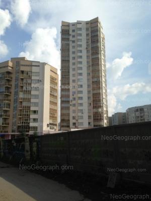 View to: Marshala Zhukova street, 14; Marshala Zhukova street, 14 (Жилой дом, 19 этажей). Yekaterinburg (Sverdlovskaya oblast)