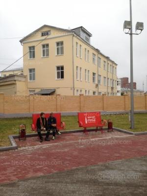 На фото видно: Репина улица, 3 (Уральский государственный медицинский университет). Екатеринбург (Свердловская область)