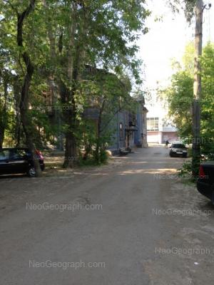 View to: Kuznetsova street, 7; Kuznetsova street, 11. Yekaterinburg (Sverdlovskaya oblast)