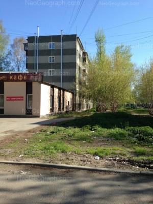 View to: Angarskaya street, 64; Angarskaya street, 64. Yekaterinburg (Sverdlovskaya oblast)