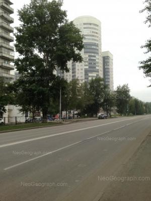 View to: Krasnikh Komandirov street, 29. Yekaterinburg (Sverdlovskaya oblast)