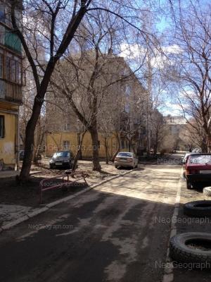 View to: Akademicheskaya street, 19А; Akademicheskaya street, 23Б. Yekaterinburg (Sverdlovskaya oblast)