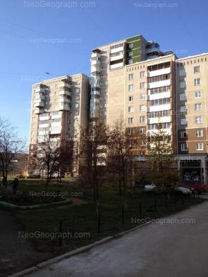 View to: 8 Marta street, 189/2; 8 Marta street, 189/3; 8 Marta street, 189/4. Yekaterinburg (Sverdlovskaya oblast)