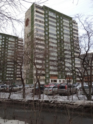 View to: Rastochnaya street, 15/7; Rastochnaya street, 17/2; Rastochnaya street, 17/1. Yekaterinburg (Sverdlovskaya oblast)