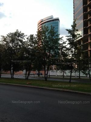 View to: Borisa Eltsina street, 1а (Президент, БЦ). Yekaterinburg (Sverdlovskaya oblast)