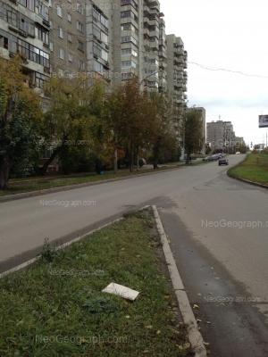 На фото видно: Викулова улица, 48; Металлургов улица, 28. Екатеринбург (Свердловская область)