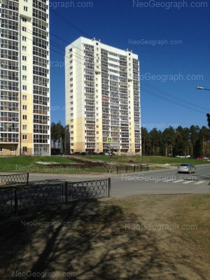 На фото видно: Билимбаевская улица, 37; Билимбаевская улица, 39. Екатеринбург (Свердловская область)