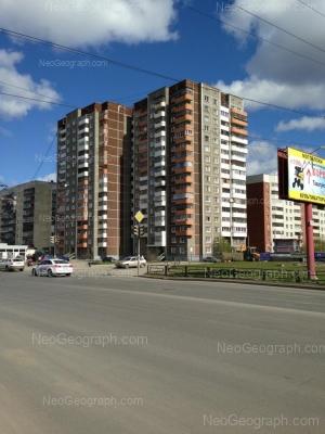 View to: Bebeliya street, 117; Tavatuiskaya street, 2; Tavatuiskaya street, 2/2; Tavatuiskaya street, 4. Yekaterinburg (Sverdlovskaya oblast)