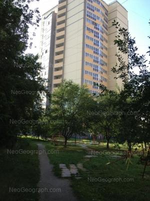 View to: Serafimi Deriyabinoy street, 53а. Yekaterinburg (Sverdlovskaya oblast)