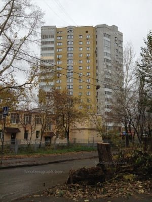 View to: Belinskogo street, 171; Onezhskaya street, 2 (Детский сад №488). Yekaterinburg (Sverdlovskaya oblast)